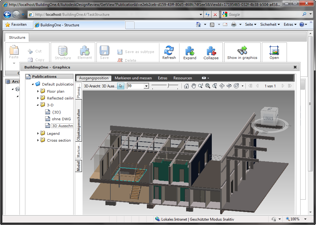 BuildingOne CAD Viewer
